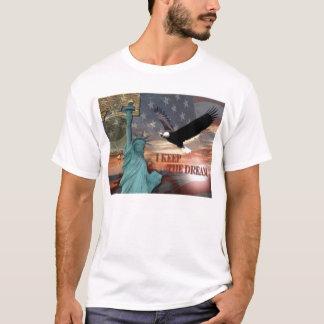 Camiseta Eu mantenho o sonho