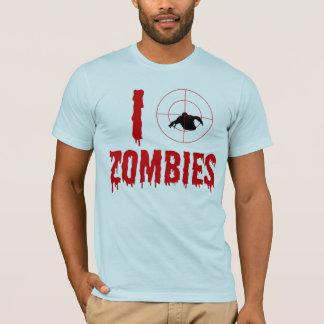 Camiseta Eu mato zombis