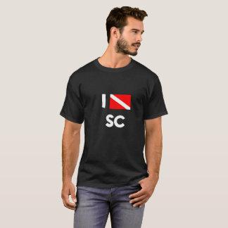 Camiseta Eu mergulho t-shirt do SC