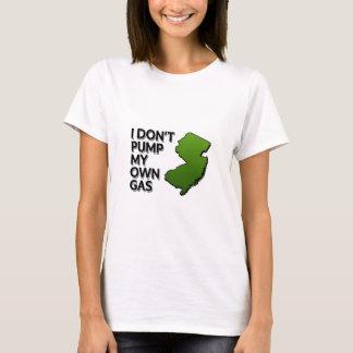 Camiseta Eu não bombeio meu próprio gás