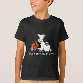 Camiseta Eu não como meus amigos