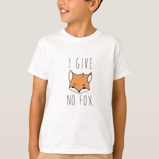 Camiseta Eu não dou nenhum Fox