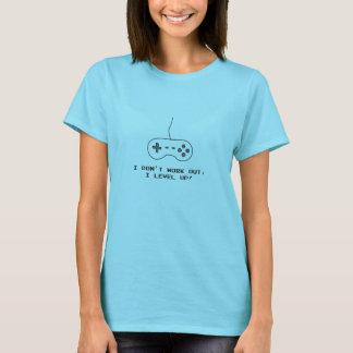 Camiseta Eu não elaboro, ascendente nivelado de I!