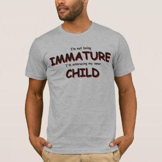 Camiseta Eu não estou sendo imaturo…