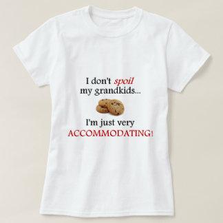 Camiseta Eu não estrago meus netos… Apenas acomodando!