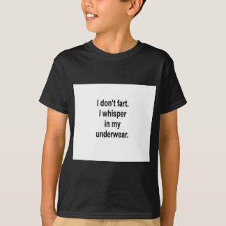 Camiseta Eu não fart