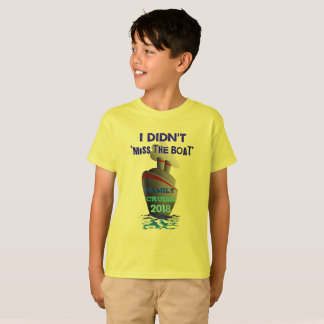 Camiseta Eu não fiz o t-shirt 2018 da senhorita Barco