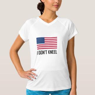 Camiseta Eu não me ajoelho hino nacional de bandeira
