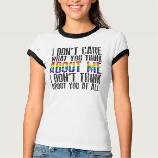 Camiseta Eu não me importo