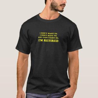 Camiseta Eu não me quero não faço tenho que você chanfrado