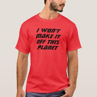 Camiseta Eu não o farei!