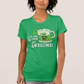 Camiseta Eu não obtenho o BEBADO que eu obtenho