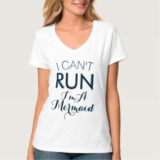 Camiseta eu NÃO POSSO FUNCIONAR-ME sou letras dobro DE UMA