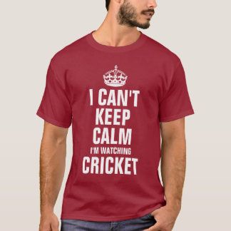 Camiseta Eu não posso manter a calma que eu estou olhando o