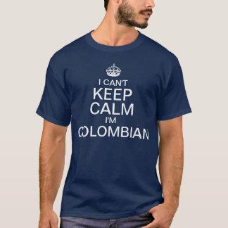 Camiseta Eu não posso manter a calma que eu sou colombiano