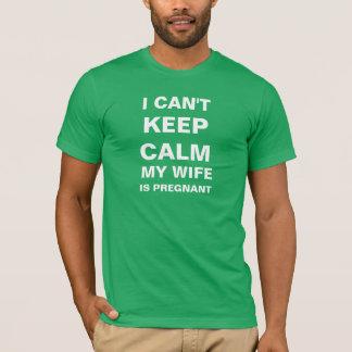 Camiseta Eu não posso manter a calma que minha esposa está