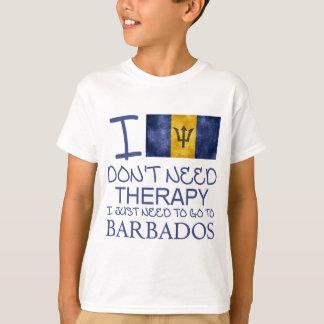 Camiseta Eu não preciso a terapia que eu apenas preciso de