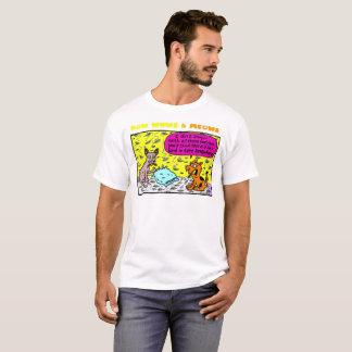 Camiseta Eu não sei - com todas estas penas…