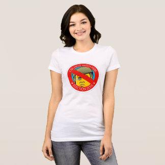 Camiseta Eu não sou com ele (Anti-Trunfo T)