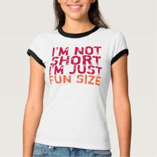 Camiseta Eu não sou curto, mim sou apenas t-shirt do