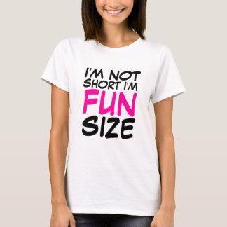 Camiseta Eu não sou curto mim sou t-shirt das senhoras do