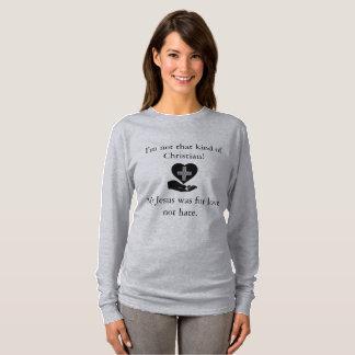 Camiseta Eu não sou esse tipo do cristão