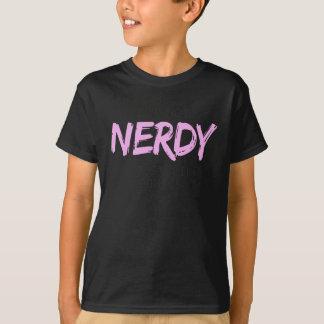 Camiseta Eu não sou I Nerdy apenas como o impressão da