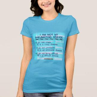 Camiseta Eu não sou minha doença reumatóide