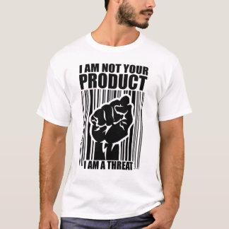 Camiseta Eu não sou seu produto
