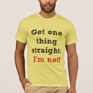Camiseta Eu não sou Str8