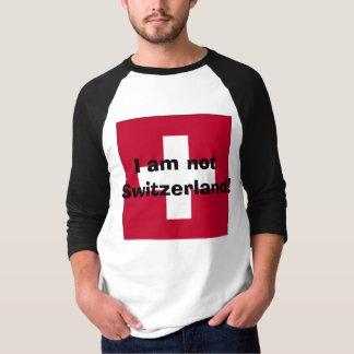 Camiseta Eu não sou suiça!