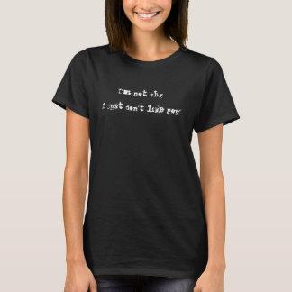Camiseta Eu não sou tímido mim apenas não gosto de você