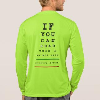 Camiseta Eu não sou última carta de olho - corredor do