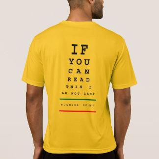 Camiseta Eu não sou última carta de olho - funcionamento