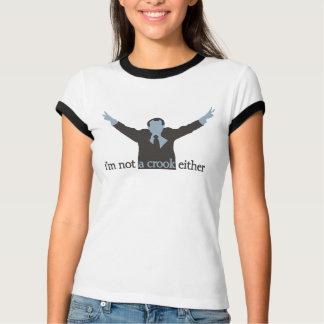 Camiseta eu não sou um azul do trapaceiro tampouco -
