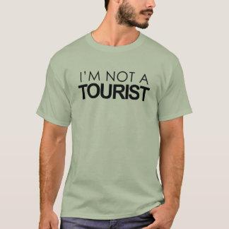 Camiseta Eu não sou um turista