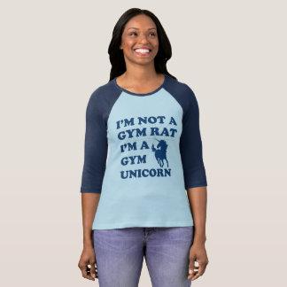 Camiseta Eu não sou um unicórnio do gym do rato do gym