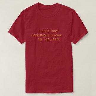 Camiseta Eu não tenho o drk T do orng do paládio