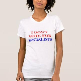 CAMISETA EU NÃO VOTO PARA, SOCIALISTAS