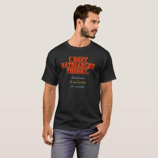 Camiseta Eu nego a teoria do patriarcado