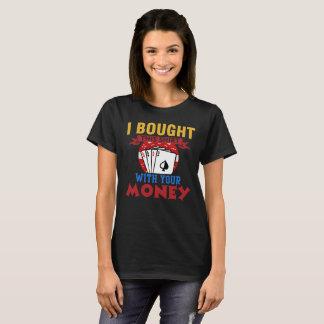 Camiseta Eu nunca blefo