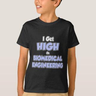 Camiseta Eu obtenho alto na engenharia biomedicável