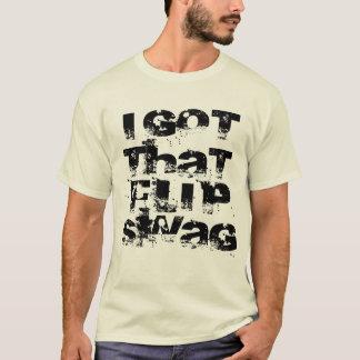 Camiseta Eu obtive esses ganhos do sacudir