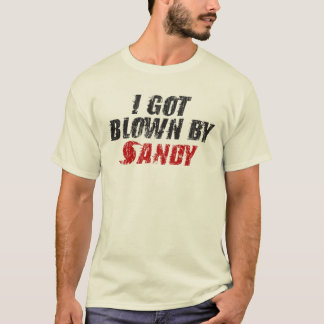 Camiseta Eu obtive fundido por Sandy - t-shirt de Sandy do