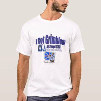 Camiseta Eu obtive Grimbled