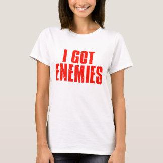 Camiseta Eu obtive inimigos