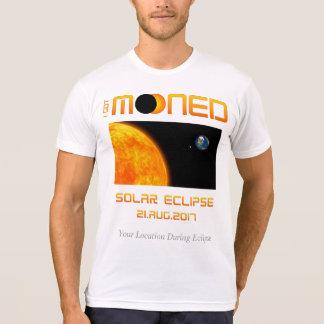 Camiseta Eu obtive Mooned (o eclipse solar)