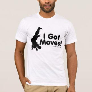Camiseta Eu obtive movimentos
