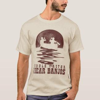 Camiseta eu ouço banjos