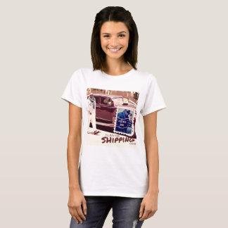 Camiseta Eu pagarei os custos de envio (o t-shirt)
